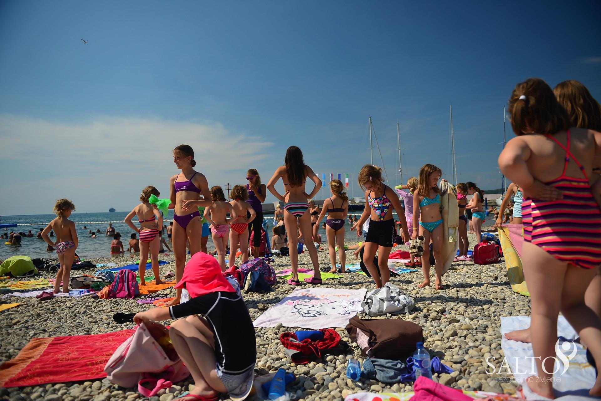 Poletna Športna Šola 2014 Koper – Prvi dan