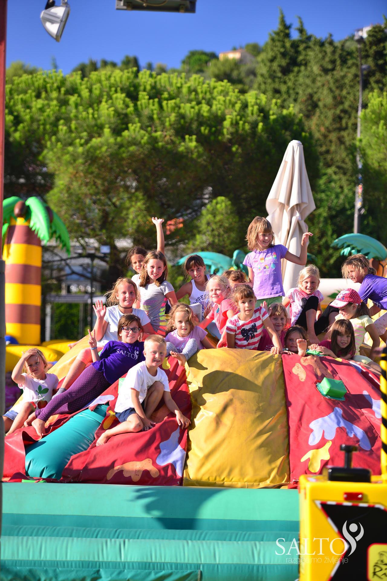 Poletni gimnastični kamp 2015 prvi termin 5in6