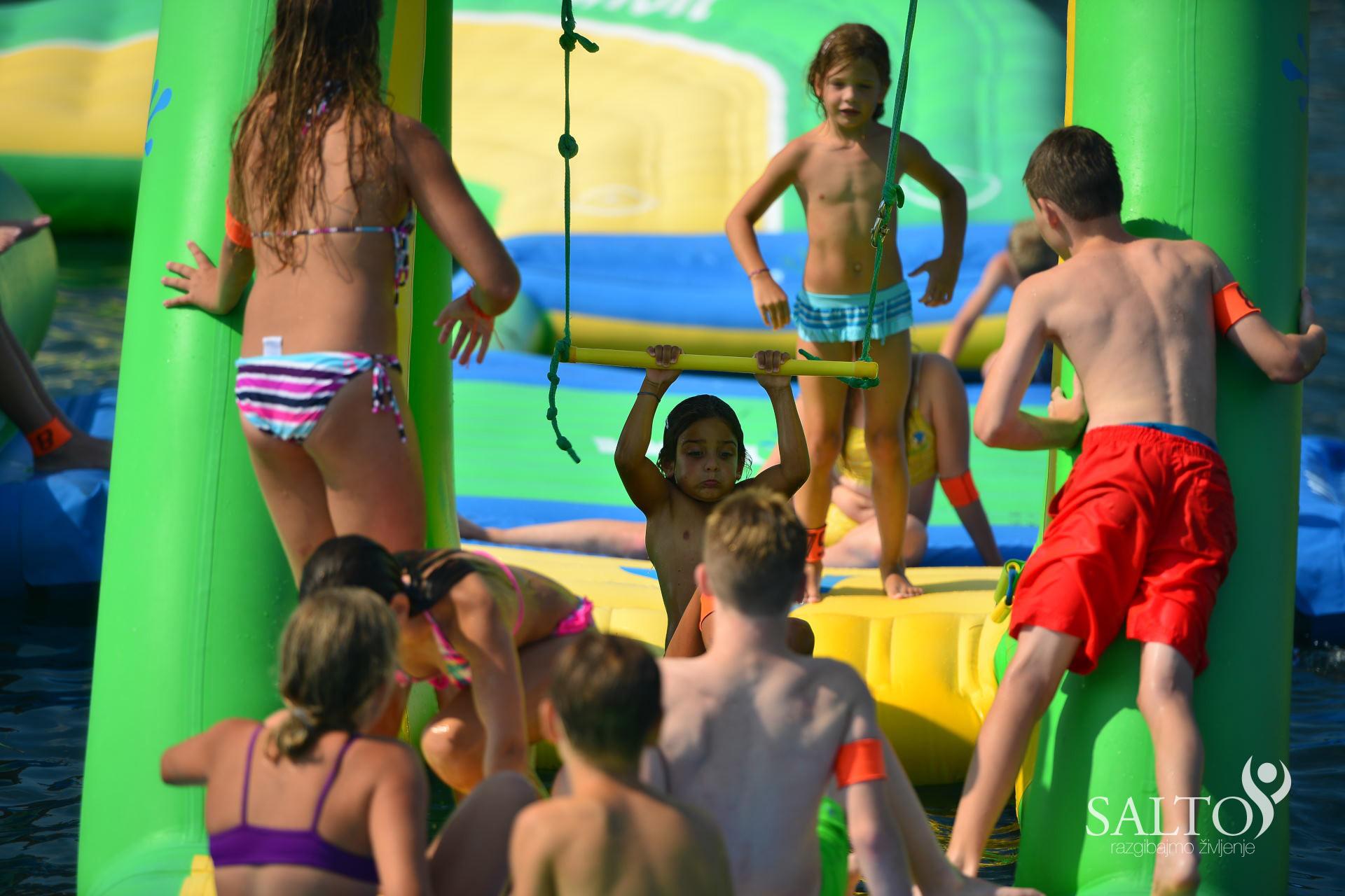 Poletni gimnastični kamp 2015 drugi termin četrti dan