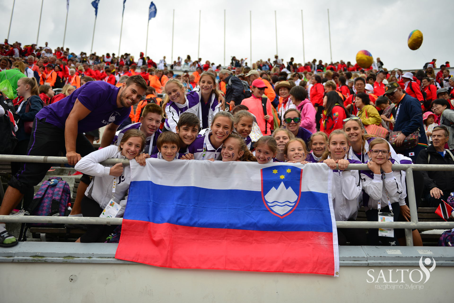 15th World Gymnaestrada 2015 – Helsinki Finland day 7