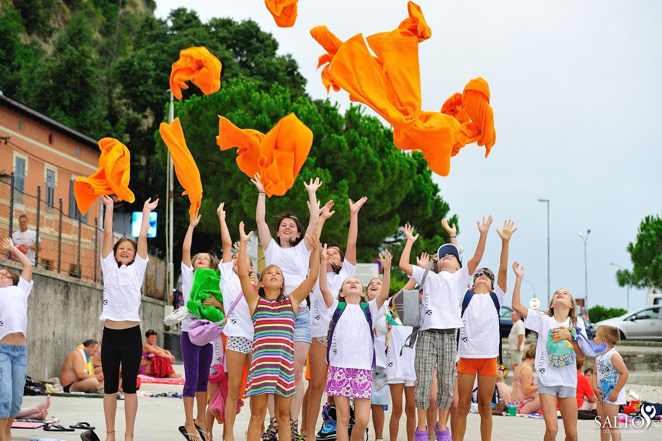 Poletna šola športa – prvi dan